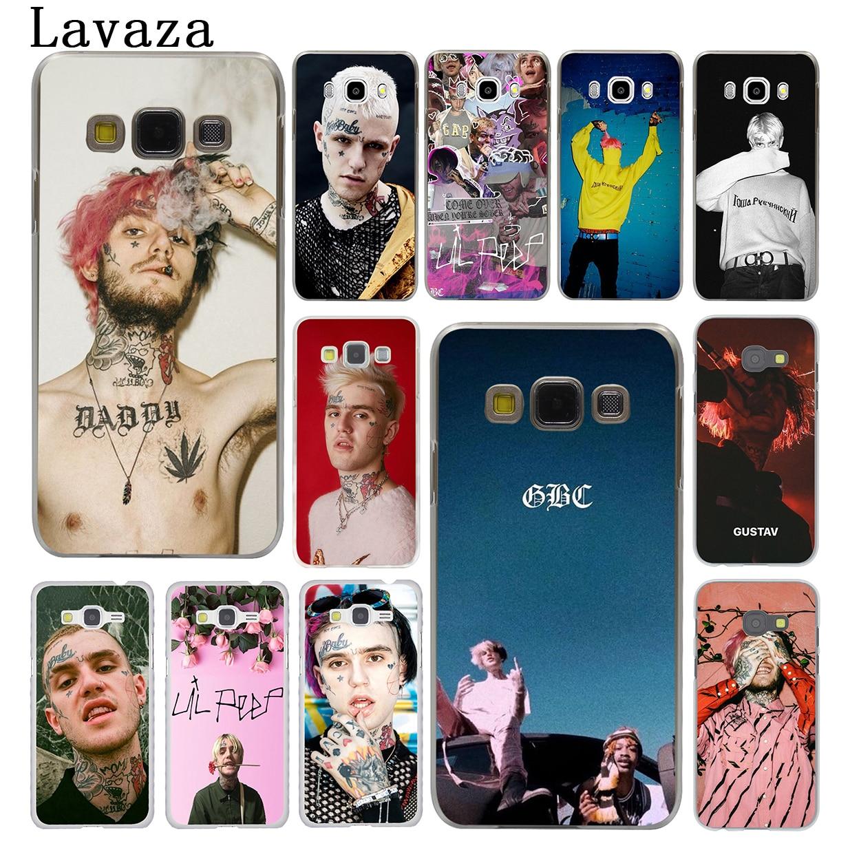Lavaza Lil Peep Lil Bo Peep Hard Phone Shell Case for Samsung Galaxy J7 J1 J2 J3 J5 2015 2016 2017 Prime Pro Ace 2018 Cover