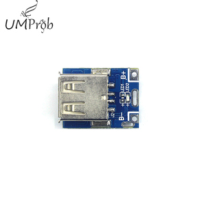 5V Boost Step Up Power Module Lithium LiPo Battery Charging Protection Board LED Display USB for DIY Charger 134N3P Program(China)