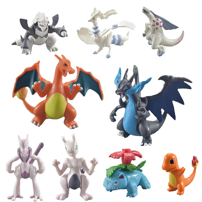 TAKARA TOMY Pokemon Figura 1pcs Anime Movie Cartoon Pokemon Figures Toy Action Figure 6-8CM Model Doll Kids Kind Birthday Gifts