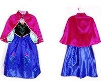 2017 Girls Dress Kids Anna Elsa Dresses For Girls Children Baby Clothing Child Costume Dresses Princess