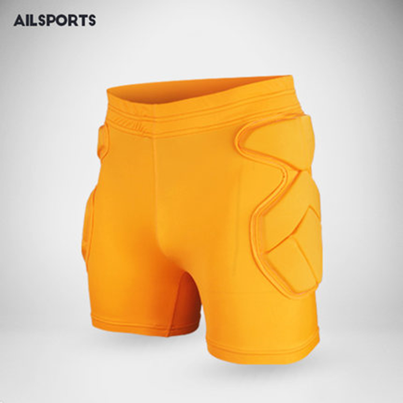 New Protective Hip Pad Padded Shorts Basketball Soccer Goalkeeper Short Eva Thick Latex Sponge Snowboarding Impact Protection цена