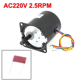UXCELL Hot Sale 1 Pcs AC220V 2.5RPM Reversible Gear Motor Speed Reducer Eccentric Shaft аксессуар чехол huawei honor 4x skinbox 4people red t s hh4x 002 защитная пленка