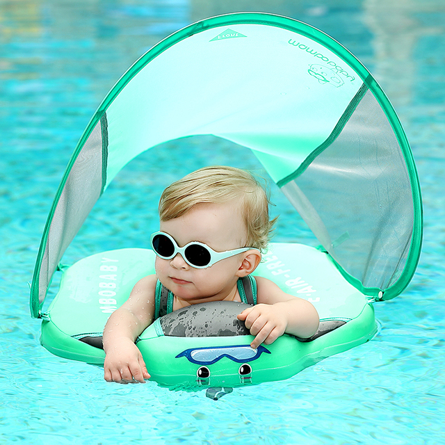 Solid No Inflatable Safety for Baby Swimming Ring floating Swim ring float Suitable for 0-2-3-6 years old