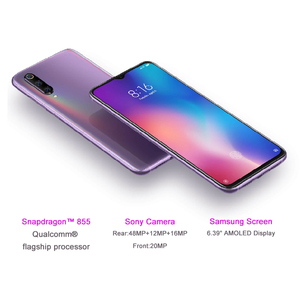 Image 2 - Xiaomi Mi 9 Mi9 6GB 128GB Global Version 48MP Triple Camera Snapdragon 855 Smartphone Fingerprint NFC AMOLED Display