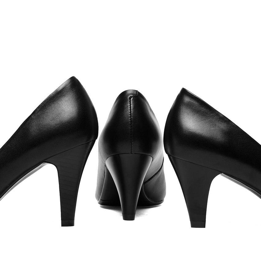 Sur Slip Haute Vache 8 Taille Black Pu black Bout black 42 Cm Esveva Pointu Talons 6 9cm Types 5c 2018 Trois Ol Chaussures Femmes Élégant Mince En 34 Pompes Cuir ZxIOq7IAw