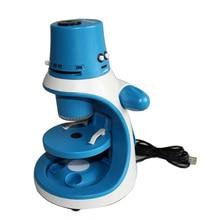 Big sale LED Lighted Illumination Kids Student Education USB Digital Stereo Biological Microscope 250x 500x 750x 1000x