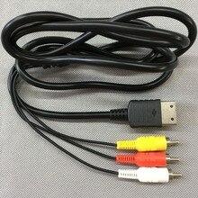 FZQWEG 10 Pcs 1.8M/6FT RCA Audio Video AV Stereo Adattatore Composito Cavo Per Sega Dreamcast
