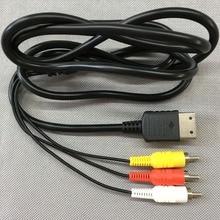 Fzqweg 10 Stuks 1.8M/6FT Rca Audio Video Av Stereo Composite Adapter Kabel Voor Sega Dreamcast