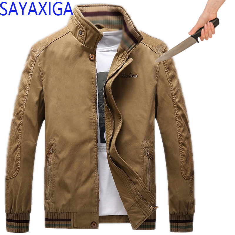 Careful Self Defense Anti-cut Jacket Men Anti Stab Clothing Anti-knife Cut Resistant Hooded Velvet Outfit Stealth Stab Jackets Coatxxxxx Jackets & Coats Jackets