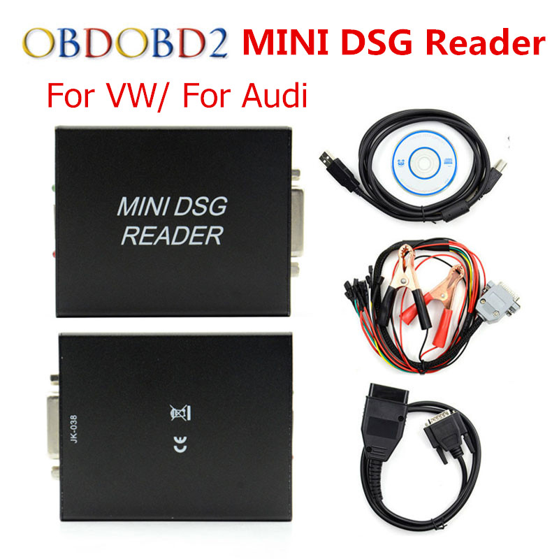 Newest MINI DSG Reader DQ200 + DQ250 For VW/AUDI After 2000 New Release DSG Gearbox Data Reading/ Writing Tool