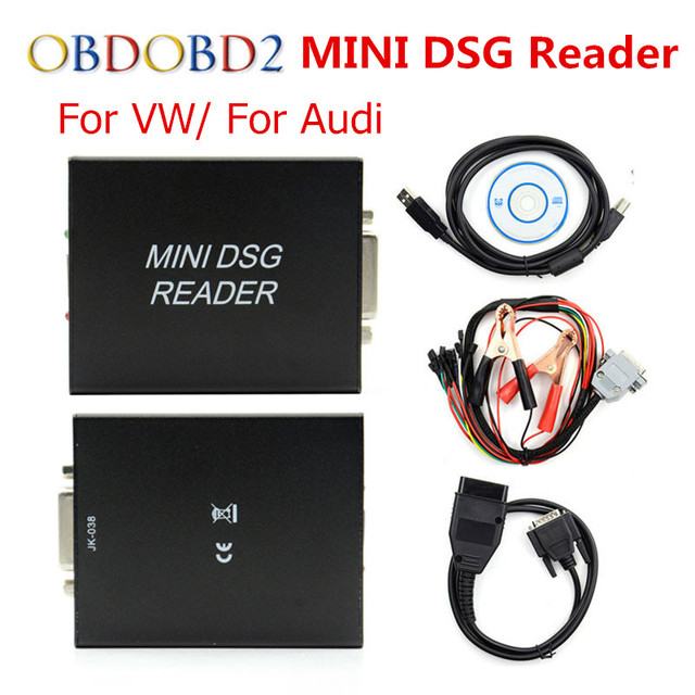 US $86 0 |Newest MINI DSG Reader DQ200 + DQ250 For VW/AUDI After 2000 New  Release DSG Gearbox Data Reading/ Writing Tool-in Code Readers & Scan Tools