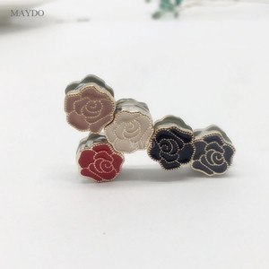 Image 4 - XT165 Fashion Small Size  Flower Brooches Pin Scarf Buckle Metal Muslim Headwear Abaya Khimar Magnetic Hijab Scarf Magnet