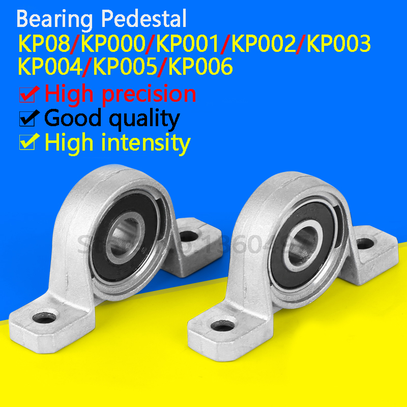 8//10//15//17//20//25mm Bore Diameter Mounted Bearings Ball Bearing Pillow Block EC