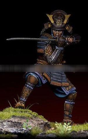 75mm Resin Figure Famous Japanese Warrior 1pc (no base) 75mm Resin Figure Famous Japanese Warrior 1pc (no base)