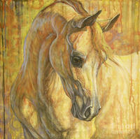 famous paintings of horses Gentle Spirit abstract modern art for home decor oil on canvas High quality hand painted