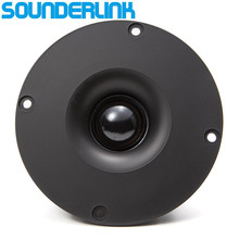 Sounderlink Audio Labs HiFi Шелковый мягкий купольный динамик твитер блок 4 дюймов 6 Ом и 8 Ом для выбора Diy домашний кинотеатр