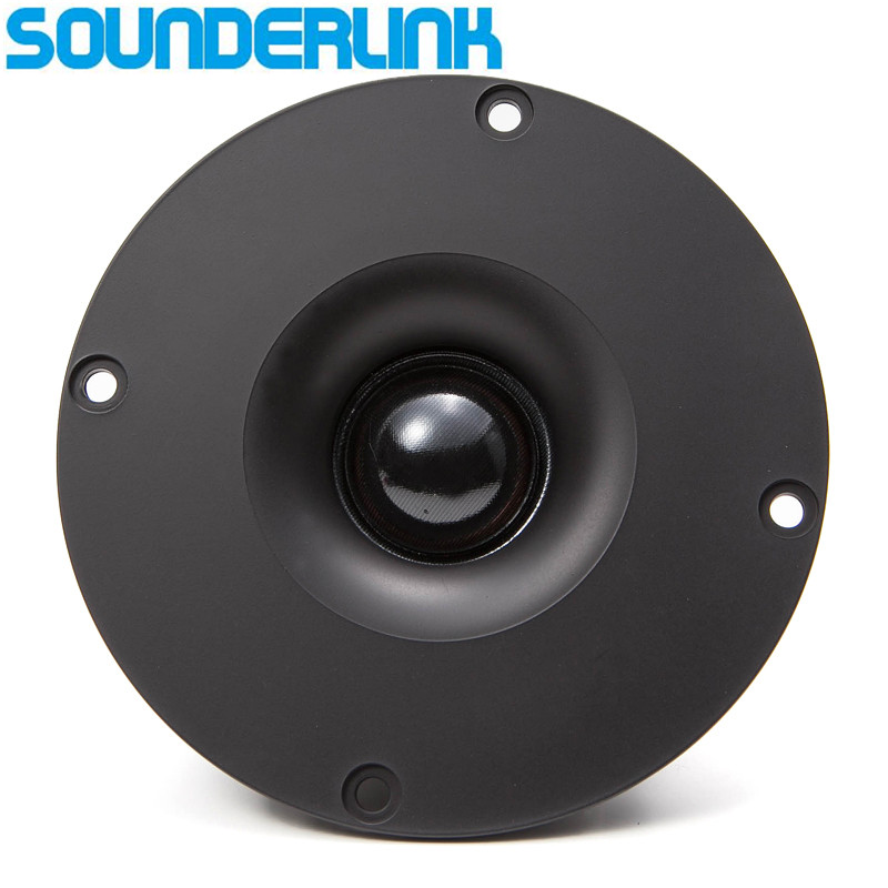 Sounderlink Audio Labs HiFi silk soft Dome <font><b>speaker</b></font> tweeter unit 4 inch 6Ohm and <font><b>8Ohm</b></font> for choose Diy home theater free shipping image