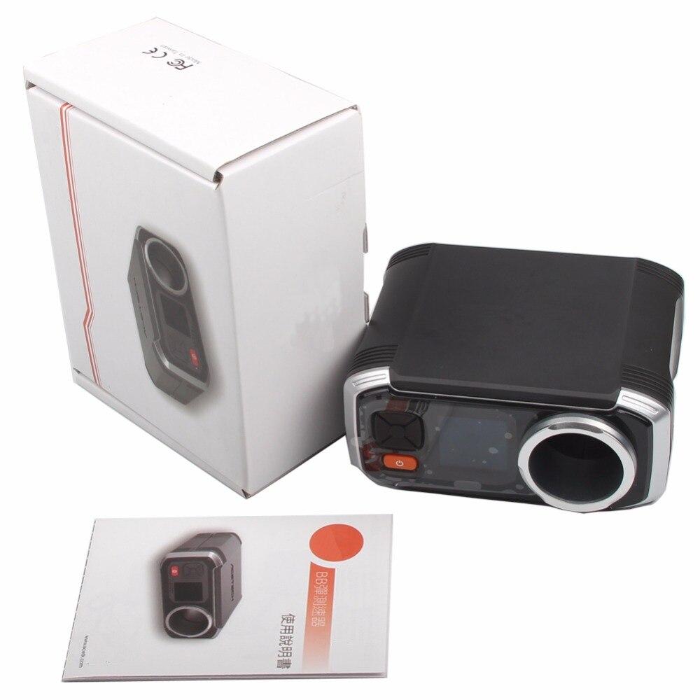 Tactical AC6000 Chrono BBs Airsoft Disparar Cronógrafo Speed Tester Caza Accesor