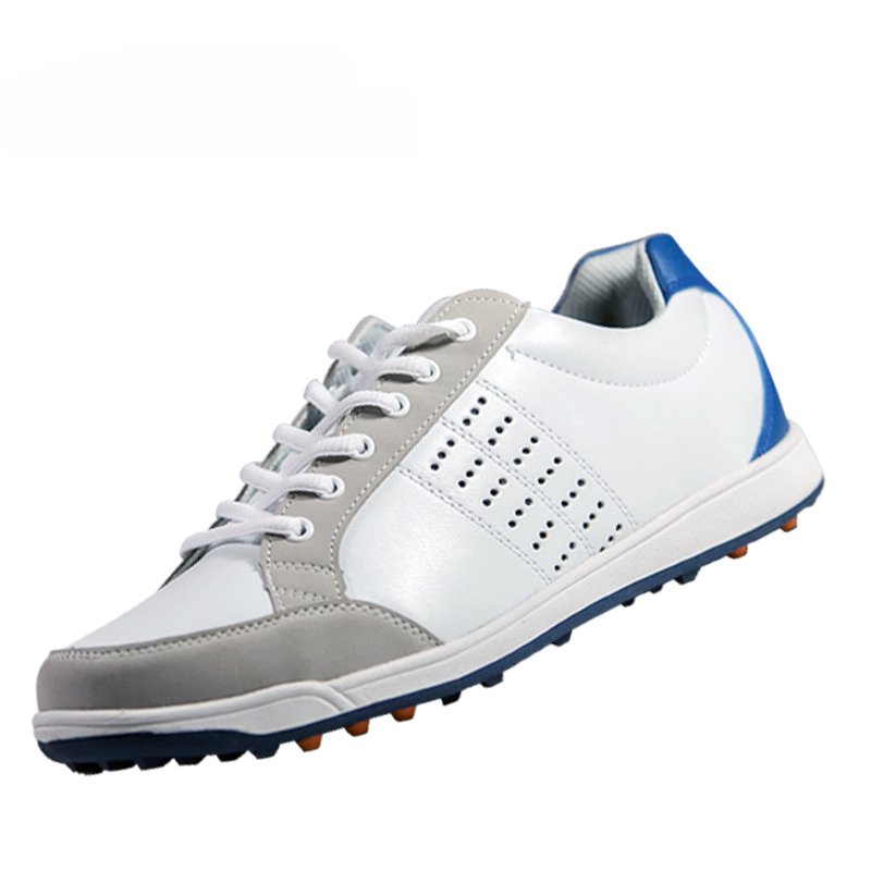 все цены на Genuine Leather Mens Tour 360 Boa Boost Waterproof Spiked Golf Sports Shoes Pro Tour Steady Spikes Sneakers онлайн