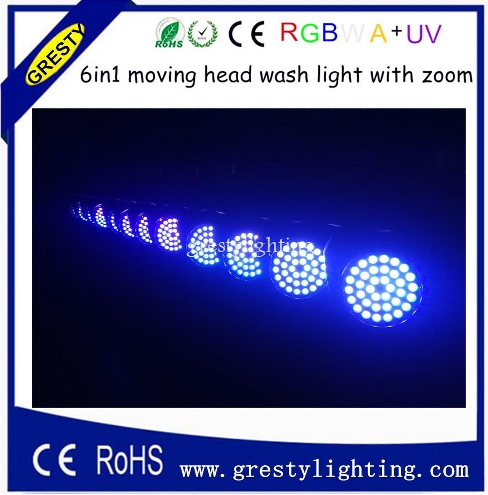 36PCS * 18W LED memimpin kepala kepala cahaya fokus fokus cahaya cahaya terbaik