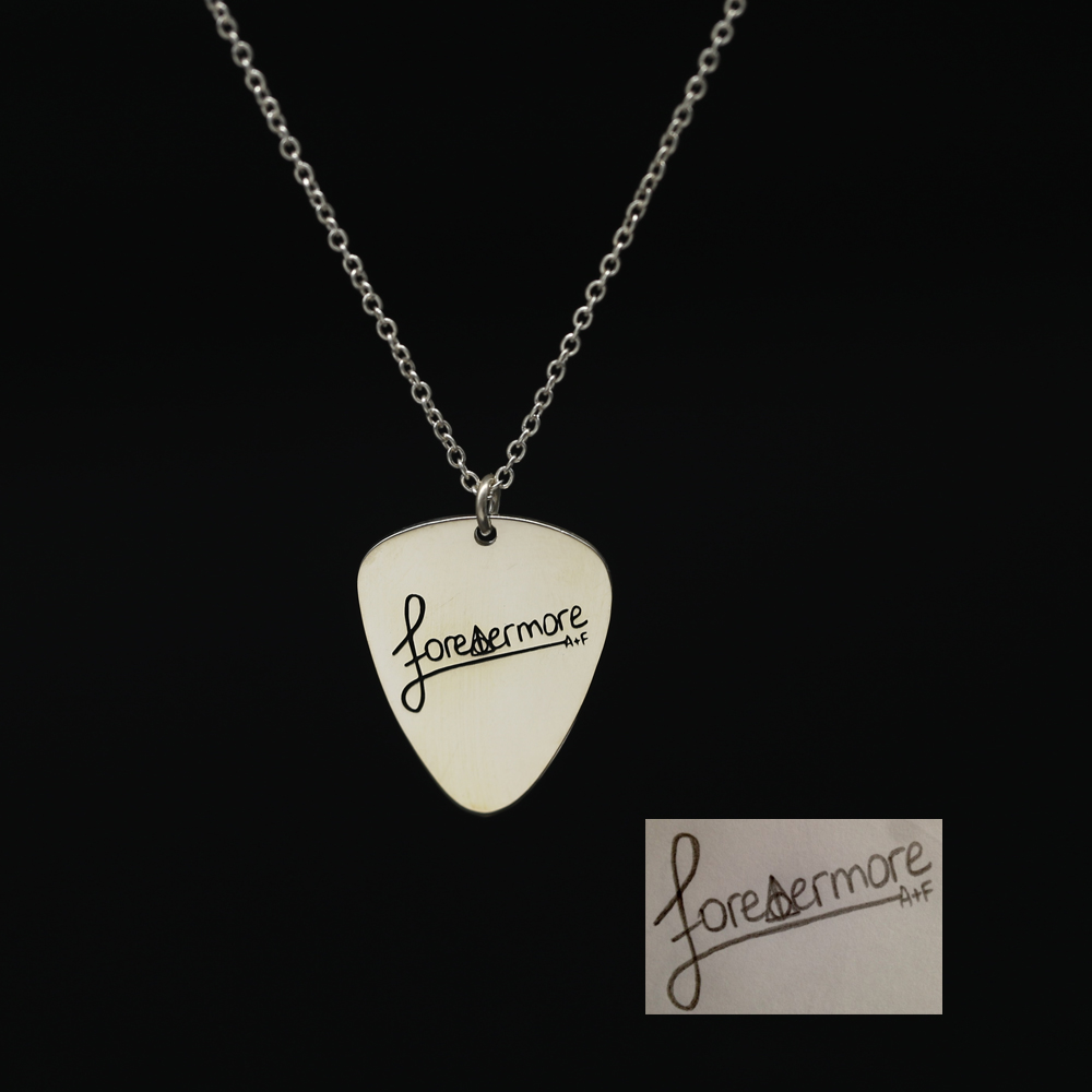 Men Necklace Guitar Personalized Pick