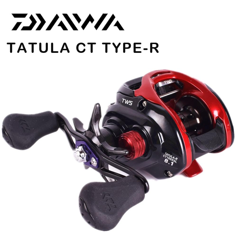2016 NEW DAIWA TATULA CT TYPE-R Bait Casting Fishing Reel TWS LOW PROFILE Reels curado 200hgk