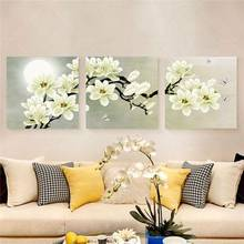 3 Panel Modern Abstract Flower Painting On Canvas Wall Art Cuadros Flowers Picture Home Decor For Living Room No Frame Pr191