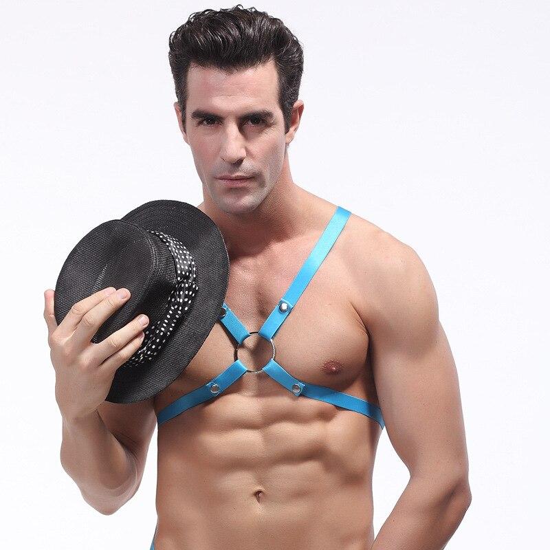 Men s Underwear Vest Sexy Male Underwear Elasticity Belts Camisole 1006BX