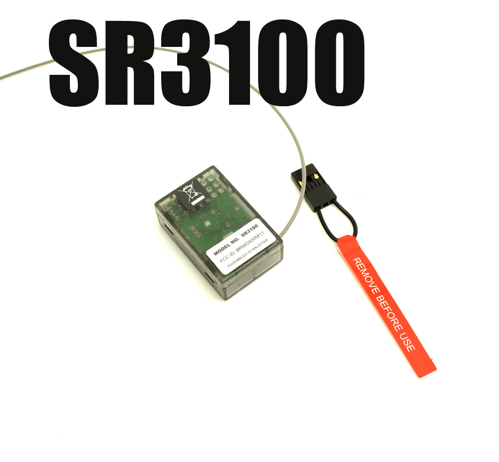 5PCS/LOT Trucks and Boats SPMSR3100 3CH Surface Receiver For Cars 1/18 scale chassis SR3100 RC Airplane-in Parts & Accessories from Toys & Hobbies    1
