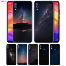 Beautiful Starry Sky Case for Redmi 7 6 6A S2 GO Note 7 6 5 4 4X Xiaomi MI 9 8 A2 A1 Mix 3 5G Play Poco F1 Lite Pro Accessory(China)