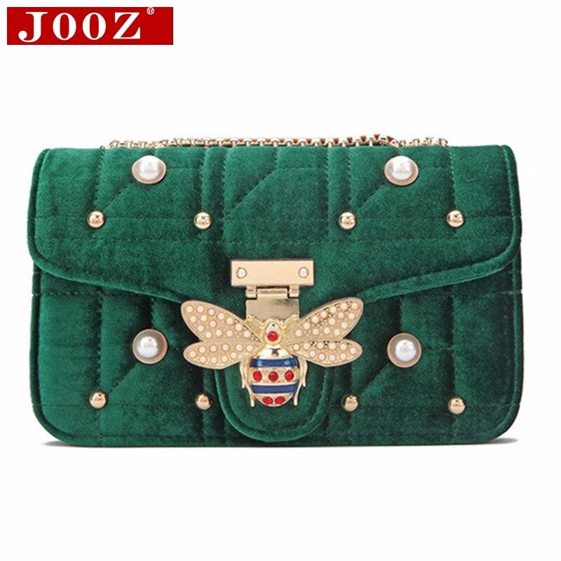 6000ffa17fc8 JOOZ брендовые бархатные сумки на плечо модные алмазные женские сумки  дизайнерские сумки высокого качества цепь женская
