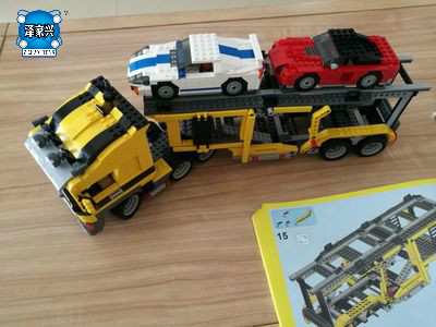 1344Pcs Technic Series Compatible Lepins The Three In One Highway Transport Set Educational Building Blocks Brick Toys Model compatible with lego technic creative lepin 24011 1344pcs 3 in 1 highway transport building blocks 6753 bricks toys for children