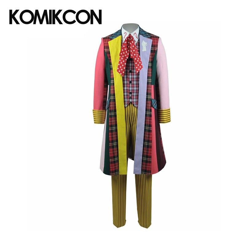 Doctor Who 6th Kleurrijke Lattice Stripe Coat Cosplay Costume - Carnavalskostuums