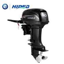 HIDEA Hot Selling Water Cooled 2-stroke 40 HP Marine Engine Outboard Motor For Boats  long shaft