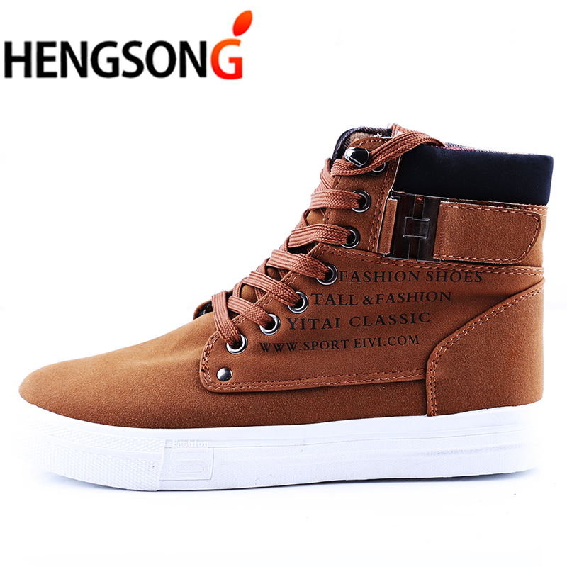 Hombres De Casuales Masculino Tenis Los Otoño Cómodos Botas Par And Calientes brown Pa871485 White Black grey all Lona 1 khaki Zapatos green Black xqW5Xxv