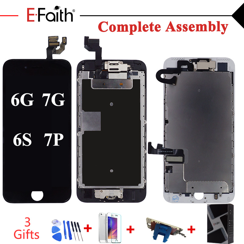 Complete LCD Or Full Set LCD For IPhone 6 6s 6 Plus Or For IPhone 7 7 Plus Screen Display Replacement With Free Ship+Tool Kit