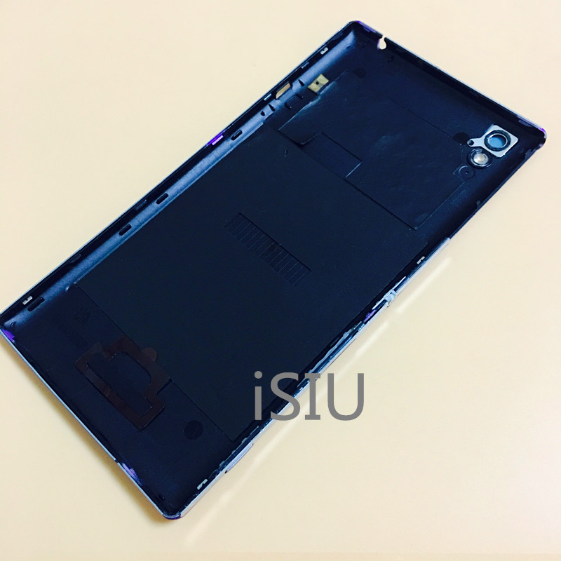 brand new 32684 4327f US $9.59  Phone Case For Sony Xperia T3 Back Cover Mobile Phone Rear Case  Battery Door T 3 Housing Black White Purple Replacement Parts-in Mobile ...