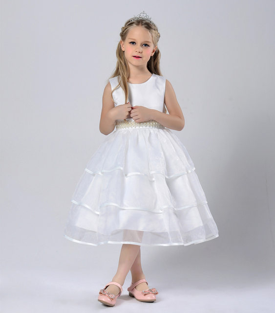 Online Shop Children Clothing year 6 7 8 9 10 11 Girls Layered Prom ...
