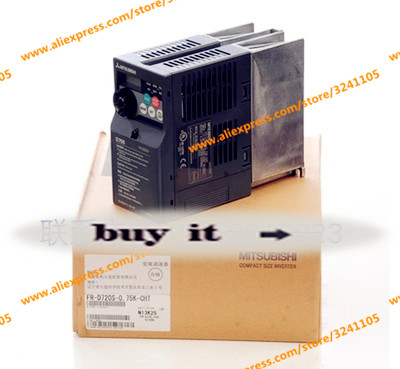 Free Shipping FR-D720S-0.75K-CHT BLACK= 0.4KW WHITE= 1.5KW BLUE= 2.2KW GREEN = 0.75 NEW
