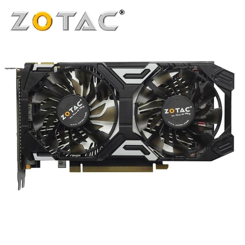 ZOTAC GeForce GTX 950 GB Placa De Vídeo 128Bit GDDR5 2 Original Placas Gráficas para Mapa GTX950 Trovão Edição nVIDIA GTX 950-2GD5