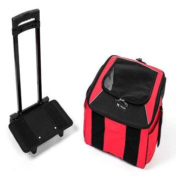 TAILUP Outdoor Pet Dog Carrier Pet Backpack Bag Portable Travel Bag Pet Dog Front Bag Mesh Backpack Head Out Double Shoulder 1