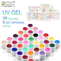 Nail Painting Gel Pure Color UV Gel Kit CANNI Factory GDCOCO Brand Nail Art Salon Recommended Paint Gel Lacquer Set 12-36 Colors