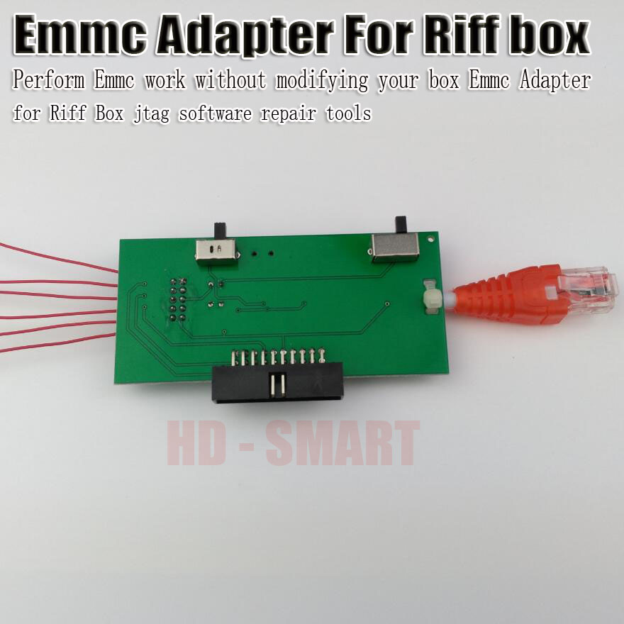 2017 New Perform Emmc Work Without Modifying Your Box Emmc Adapter For Riff Box Jtag Software Repair Tools Telecom Parts