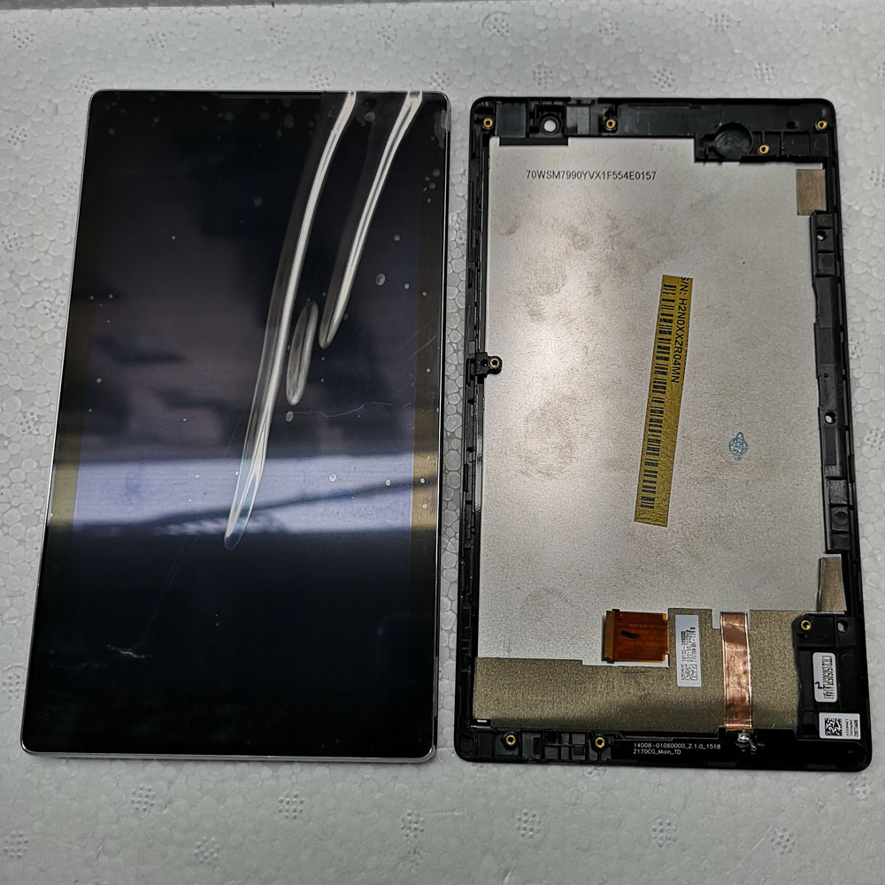 где купить 7 inch For Asus ZenPad C 7.0 Z170 Z170CG P01Y Tablet PC Panel LCD Combo display touch screen digitizer assembly with frame дешево