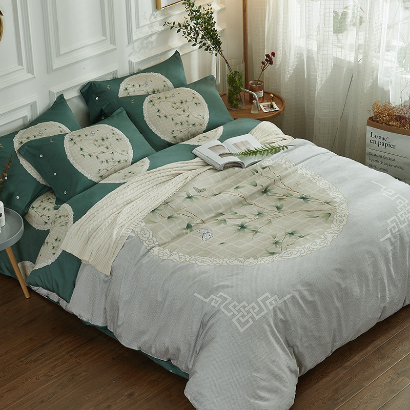 Classical Chinese Style Floral Bedding Set Queen King Size High Quality Cotton Printed Duvet Cover Bed Sheet PillowcaseClassical Chinese Style Floral Bedding Set Queen King Size High Quality Cotton Printed Duvet Cover Bed Sheet Pillowcase