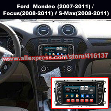 Android4 4 Car DVD Player for Ford Mondeo Focus Quad Core Car GPS Navigation Mulitimedia Player
