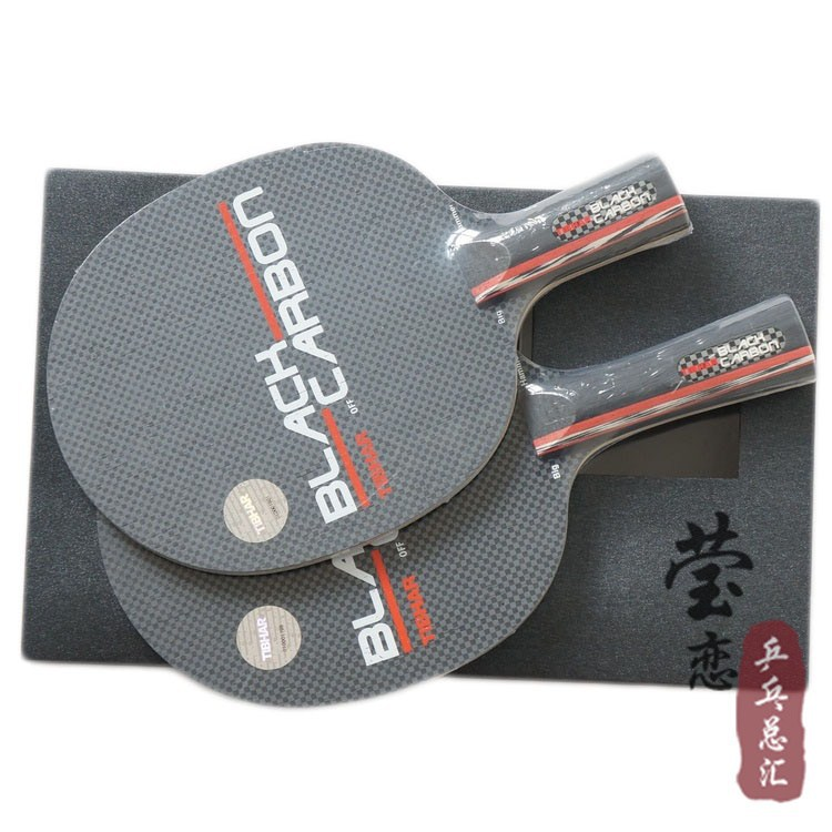 Original Tibhar Black Carbon table tennis blade carbon racket table tennis rackets racquet sports fast attack with loop hot janus professional six star table tennis blades table tennis rackets racquet sports ping pong paddles quick attack rackets
