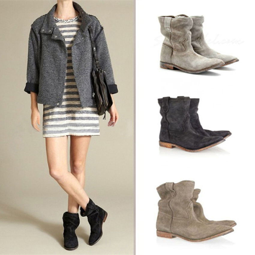 Popular Short Suede Boots-Buy Cheap Short Suede Boots lots from ...
