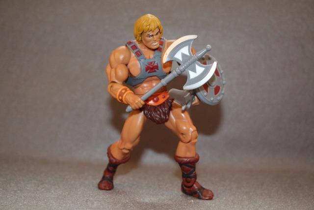 Original Masters of the Universe Classics Figure: He-Man  figure Collection