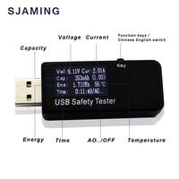 3 V-30 V 5.1A USB Tester Digitale Dispay Strom Spannung Ladegerät Kapazität Arzt energienbank meter voltmeter